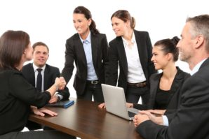 People working together image